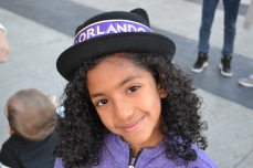 Fans of all ages showed their purple pride at the Orlando City SC Happy Hour event in Lake Nona on Jan. 29, 2016. (Rosie Reitze / Orlando Soccer Journal).
