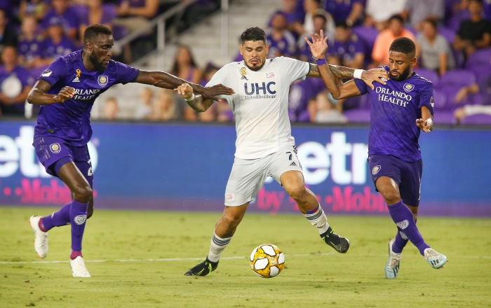 MLS: New England Revolution at Orlando City SC