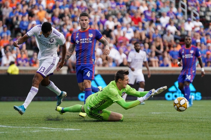 MLS: Orlando City SC at FC Cincinnati