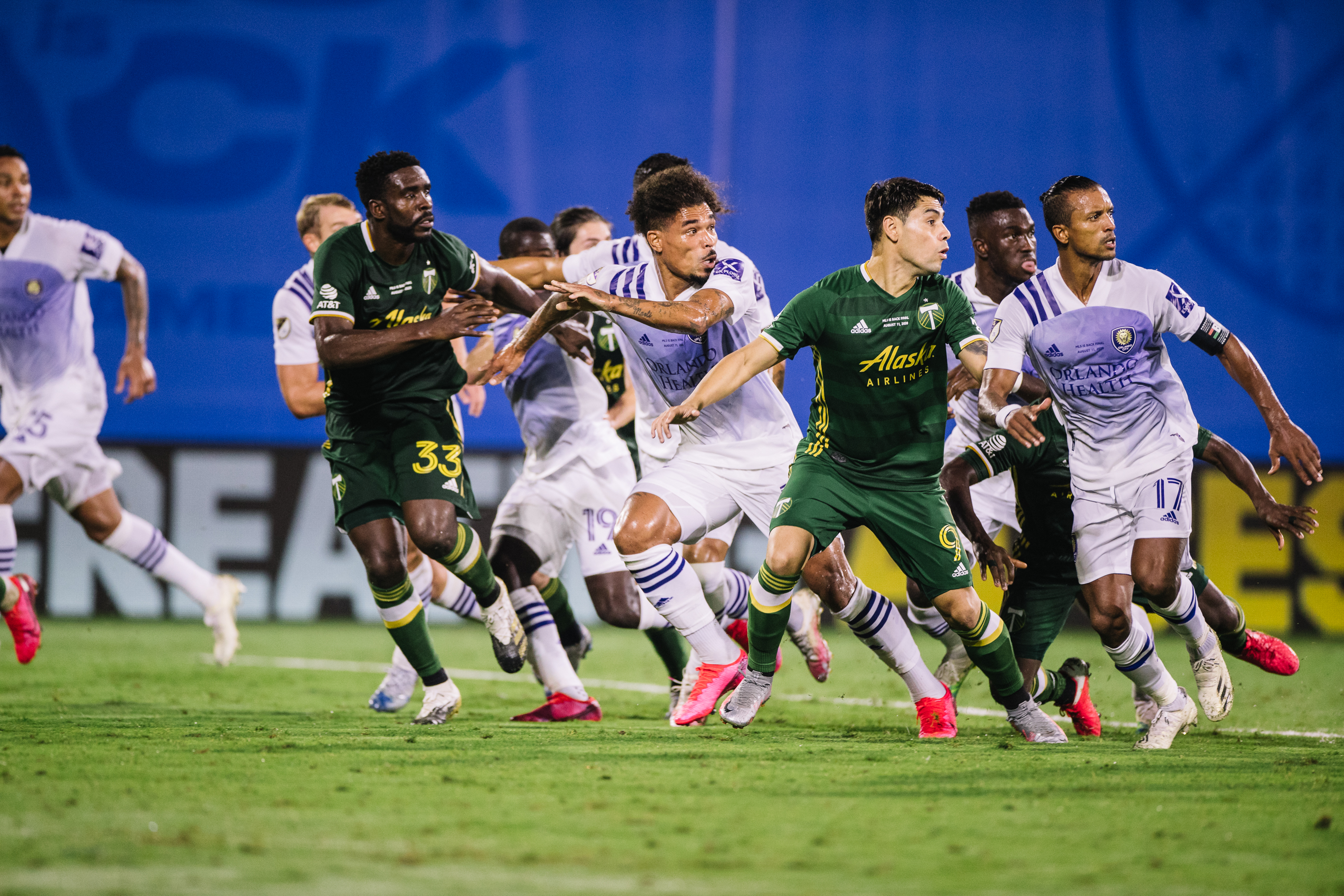 Full time photos on 08_11 - Portland Timbers vs Orlando City - Wide World of Sports_m20179